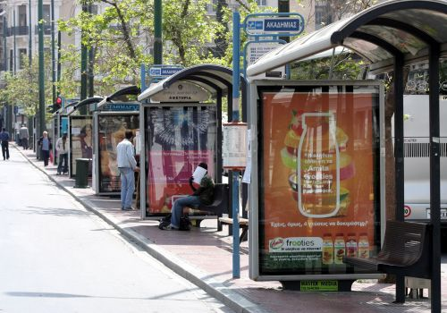 Advertising Panels at Bus-stops